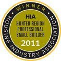 2011 HIA Hunter Professional Small Builder