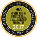 2017 HIA Hunter Region Professional Small Builder